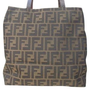 c781610facae FENDI Bags - AUTH FENDI Zucca Tote Bag Canvas